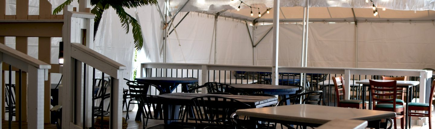 outdoor dining under heated tent lancaster pa
