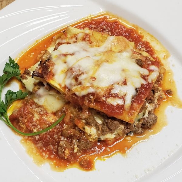 zias homemade meat lasagna